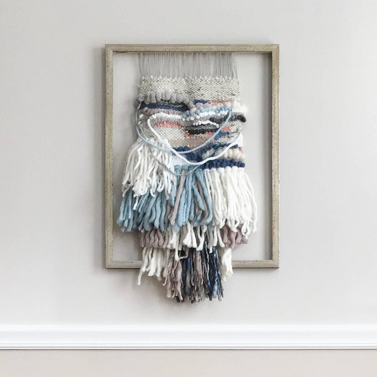 'Fairy's Crossing', Contemporary Wall Hanging Sculpture - Mixed Media Art by Dolores Tema