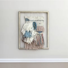 'Morning Frost', Contemporary Wall Hanging Sculpture