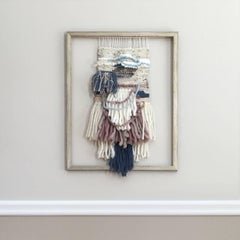 'Weaver's Tale', Contemporary Wall Hanging Sculpture