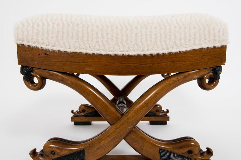 Dolphin Curule Bench For Sale 1