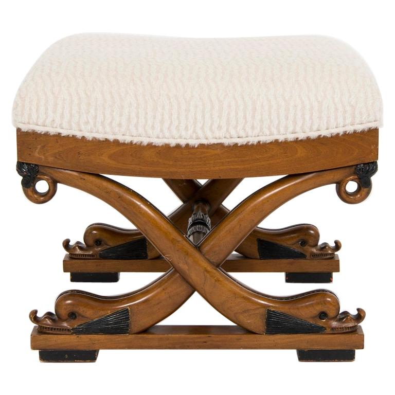 Dolphin Curule Bench For Sale