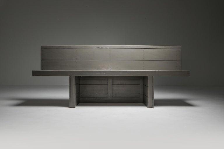 Mid-20th Century Dom Hans van der Laan Bench For Sale