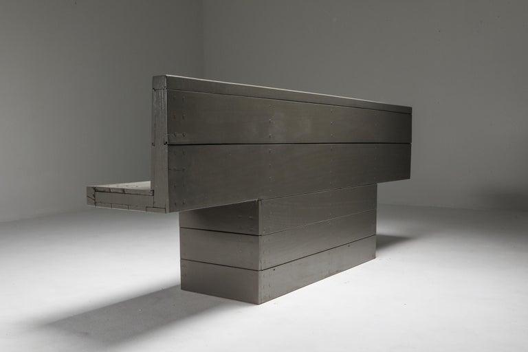 Wood Dom Hans van der Laan Bench For Sale