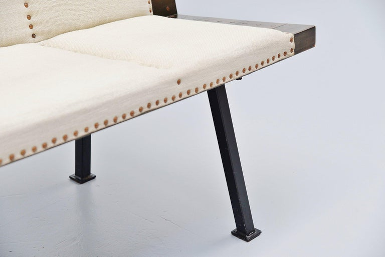Dom Hans van der Laan Bench for Town Hall Budel, 1966 For Sale 2
