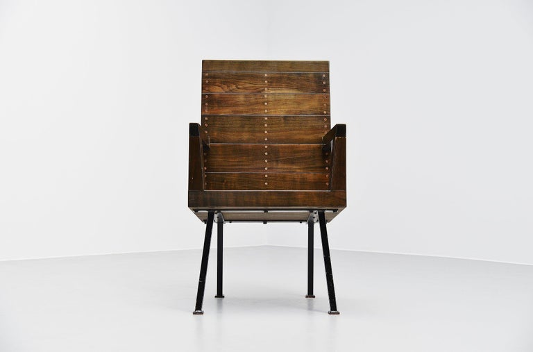 Dutch Dom Hans van der Laan Chair for Town Hall Budel, 1966 For Sale