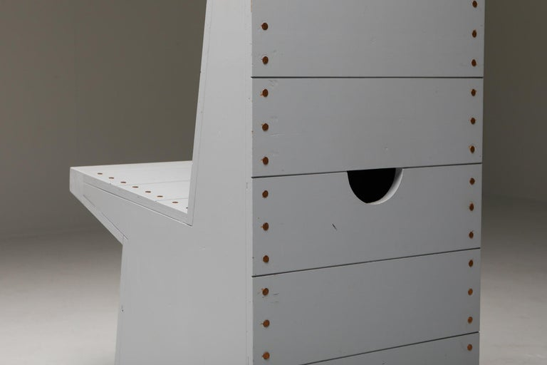 Dom Hans van der Laan Chairs by His Apprentice Jan de Jong 3