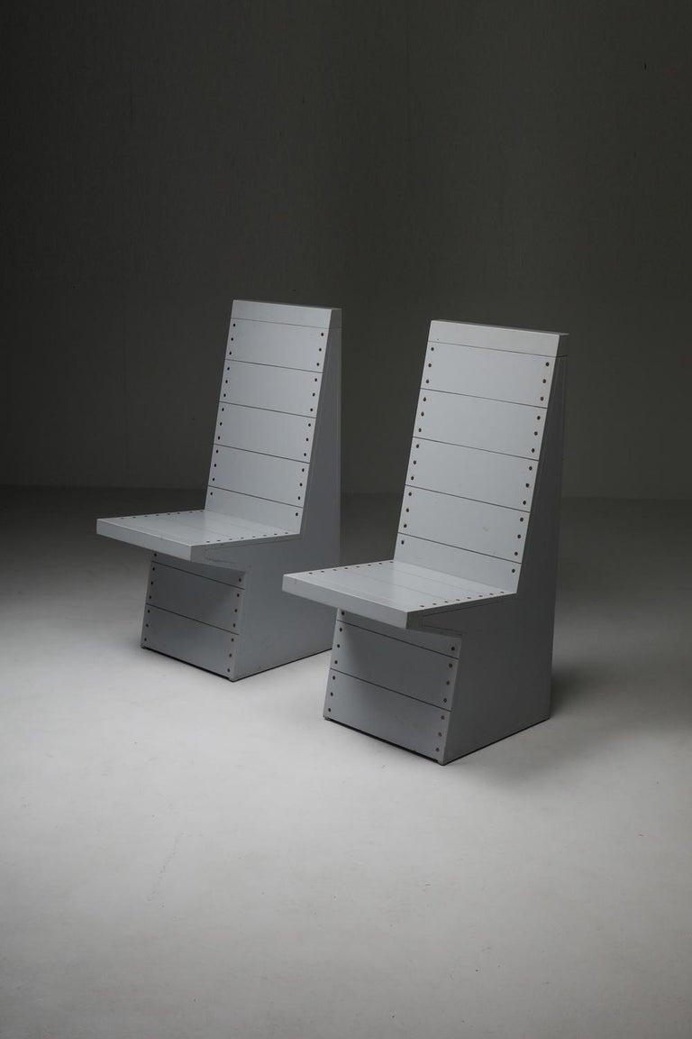 Dom Hans van der Laan Chairs by His Apprentice Jan de Jong 7