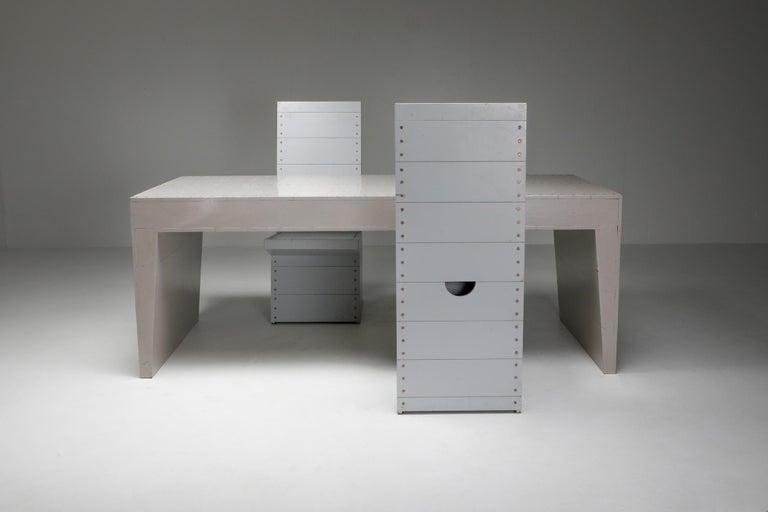 Dom Hans van der Laan Chairs by His Apprentice Jan de Jong 10