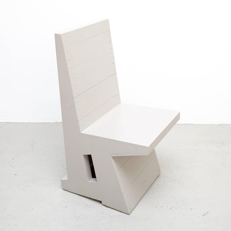 Mid-Century Modern Dom Hans van der Laan Easy Chair