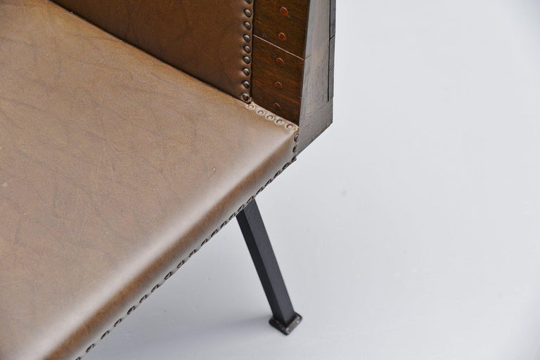 Dom Hans van der Laan High Chair for Town Hall Budel, 1966 For Sale 2