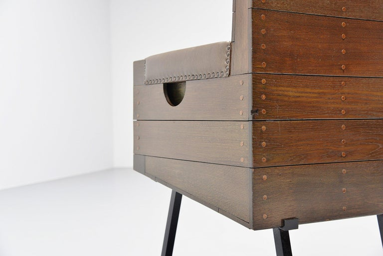 Mid-20th Century Dom Hans van der Laan High Chair for Town Hall Budel, 1966 For Sale