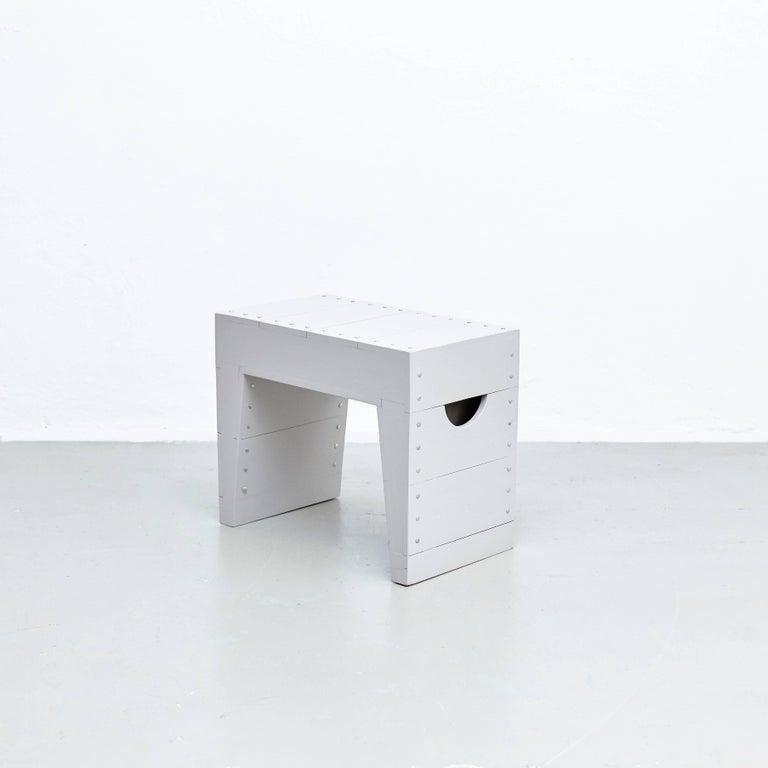 Mid-Century Modern Dom Hans van der Laan Stool For Sale