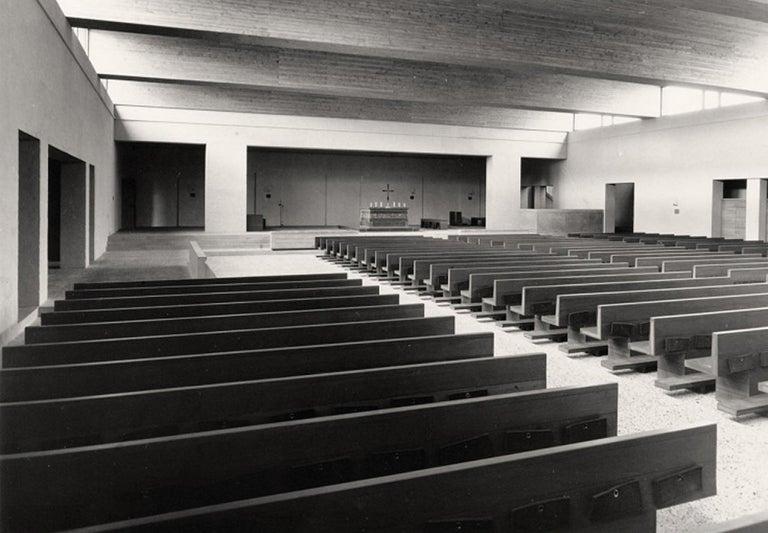Dom Hans van der Laan Stool for Vincentius a Paulokerk Eindhoven, 1964 For Sale 1