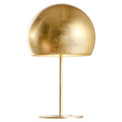 Dome Gold Leaf Table Lamp