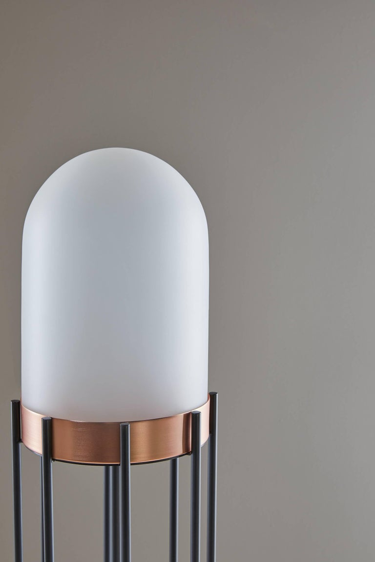 Dome Lamp by Valerio Sommella for Mingardo In New Condition For Sale In New York, NY