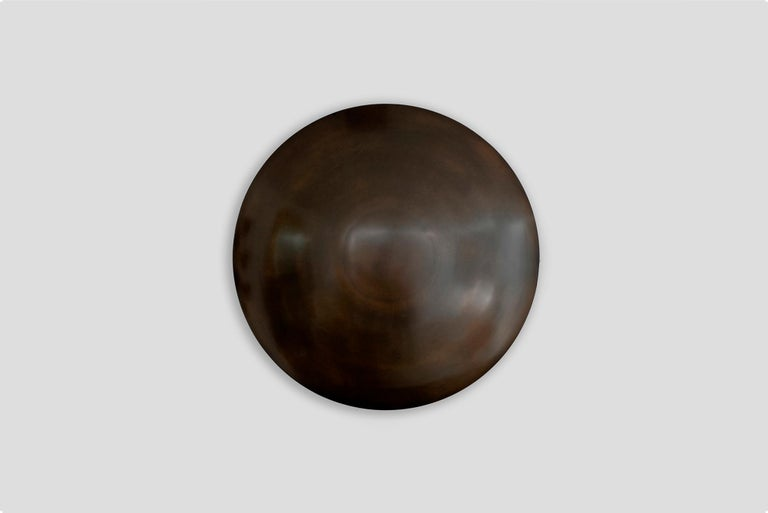 """Beautiful dome shaped wall sconce by Orange (shown in oil rubbed bronze in 24"""") Available in 18"""