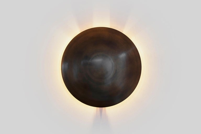 Contemporary Dome Wall Sconce For Sale