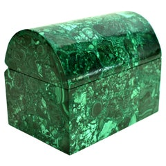 Domed Malachite Box 5 Lb Natural Gemstone Jewelry Box
