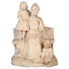 Domestic Bliss 'circa 1885' by Ernesto Battiglia
