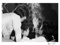 Getting   high !!!  Mick Jagger and Keith Richards