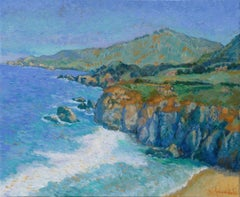 Big Sur, Painting, Oil on Canvas