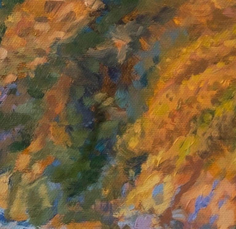 Carmel Coast Sunset, Painting, Oil on Canvas For Sale 2