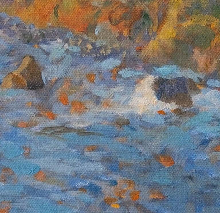 Carmel Coast Sunset, Painting, Oil on Canvas For Sale 3