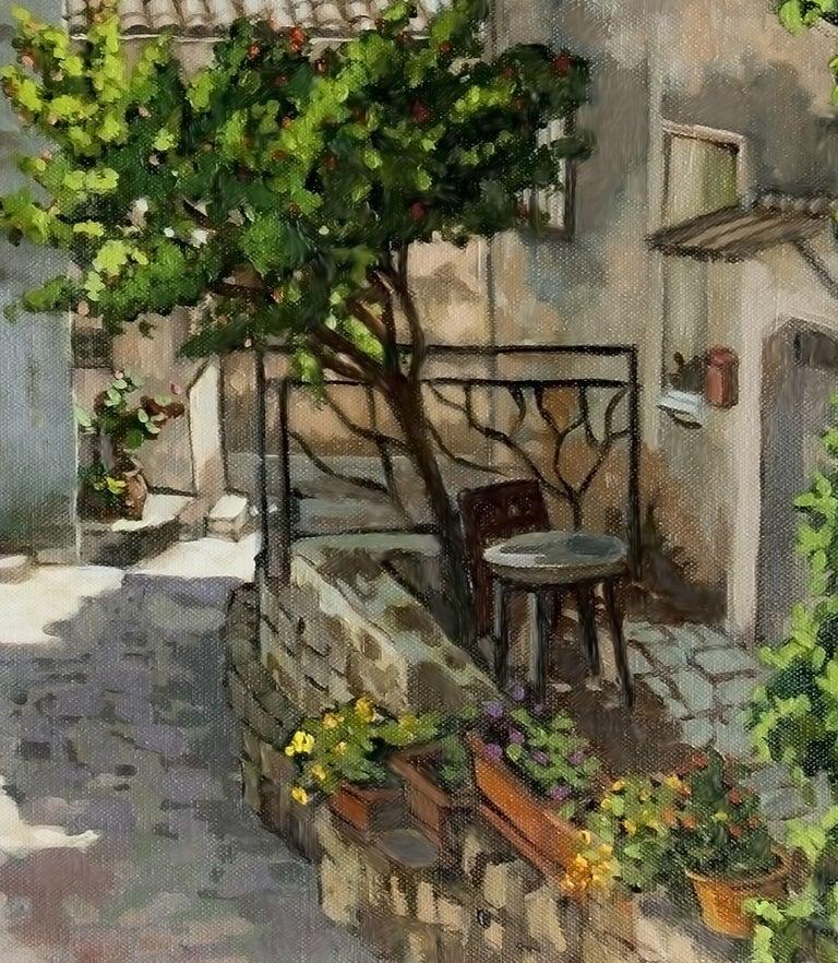 Carriero Du Pourtegue, Painting, Oil on Canvas For Sale 1