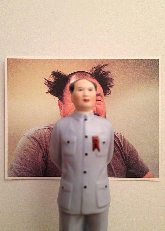 Mao-Wei Wei  - Conceptual Photograph by Dominique Blain