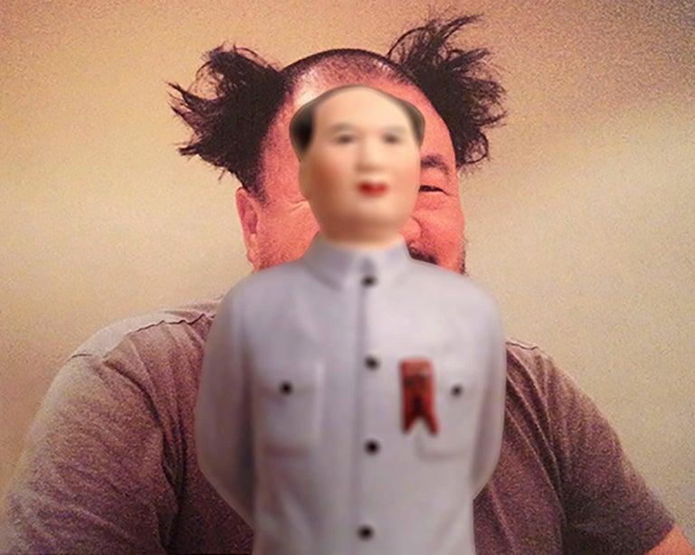 Mao-Wei Wei  - Beige Color Photograph by Dominique Blain
