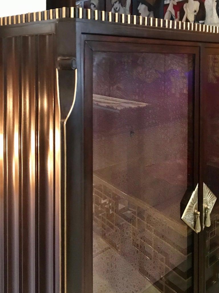 Dominique French Art Deco Vitrine Showcase For Sale 6