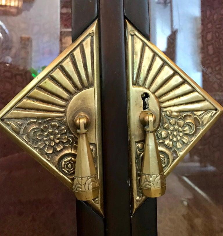 Dominique French Art Deco Vitrine Showcase For Sale 9