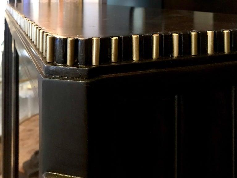 Dominique French Art Deco Vitrine Showcase For Sale 12