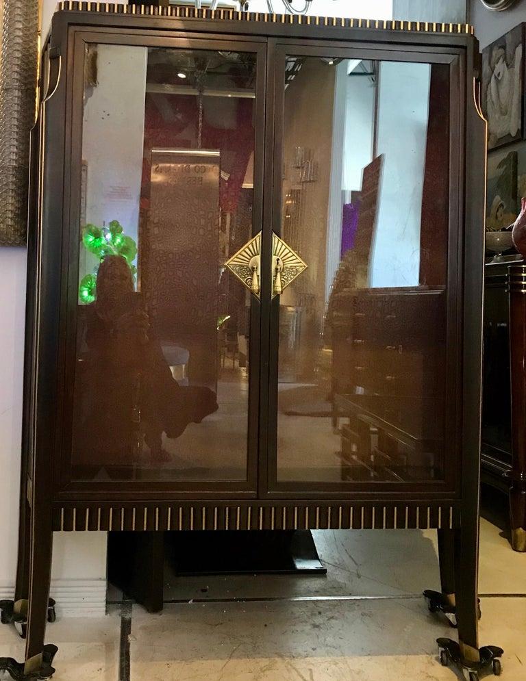 Dominique French Art Deco Vitrine Showcase For Sale 2