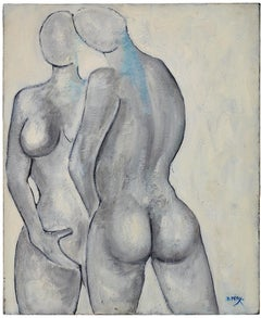 Dominique PERY, Marianne, Oil on canvas 1987