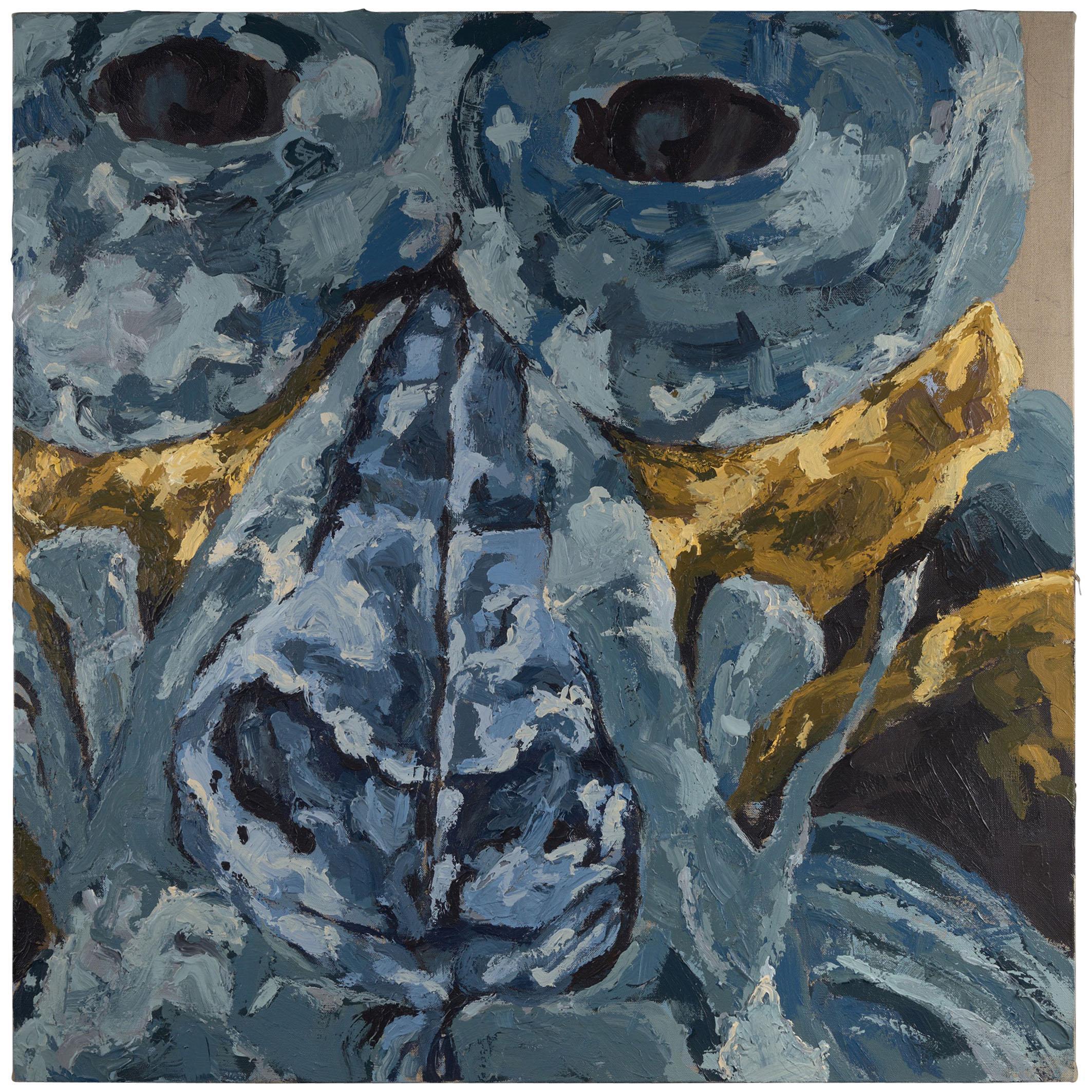 Dominique Yee, Auzoux's Troglodytes Gorilla's, Oil on Canvas