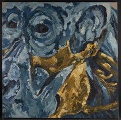 21st C., Expressionism, Animal Painting, Auzoux's Troglodytes Gorillas