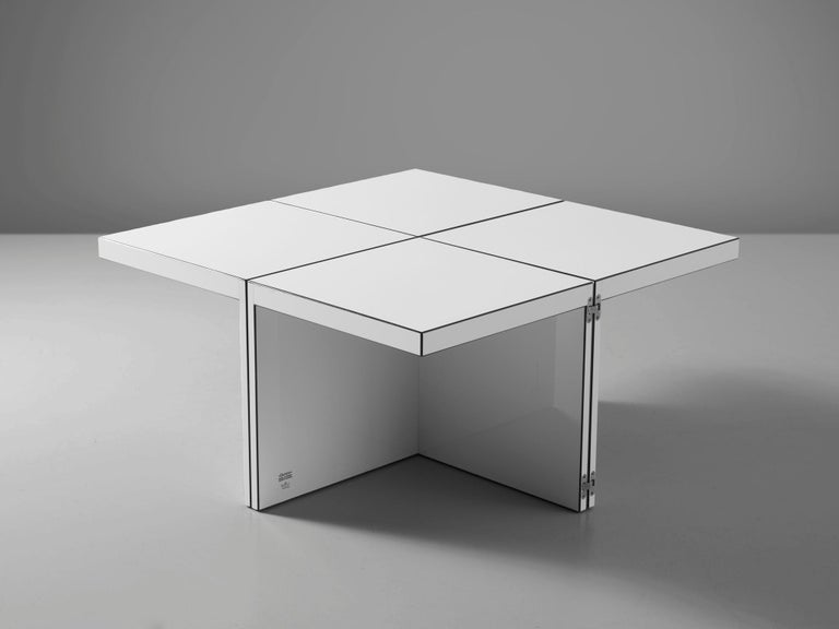 Post-Modern 'Domino' Coffee Table by Jan Wichers and Alexander Blomberg For Sale
