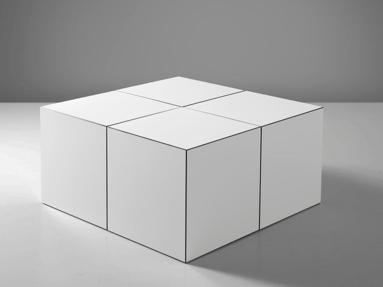 German 'Domino' Coffee Table by Jan Wichers and Alexander Blomberg For Sale