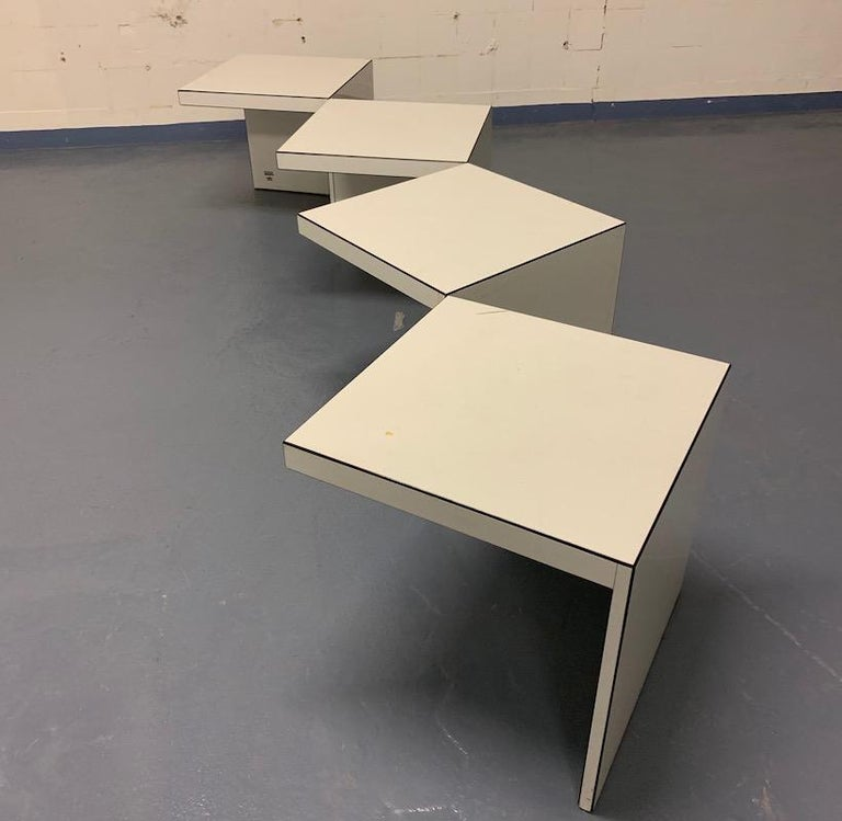 Domino Coffee Table by Rosenthal In Good Condition For Sale In Munich, DE