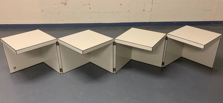 Late 20th Century Domino Coffee Table by Rosenthal For Sale