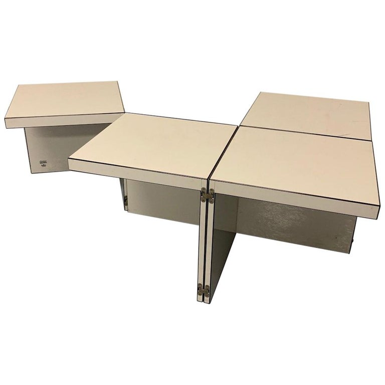 Domino Coffee Table by Rosenthal For Sale