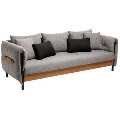 Domino Grey Sofa by Talenti