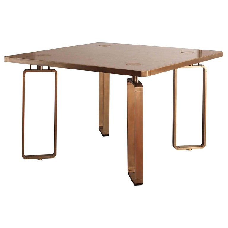 Domino Table by Ciarmoli Queda Studio For Sale