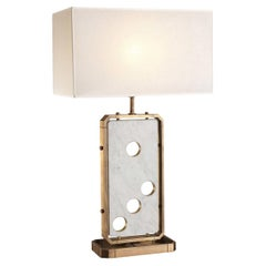 Domino Table Lamp by Ciarmoli Queda Studio