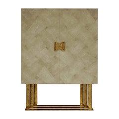 Domiziano Beige 2-Door Cabinet