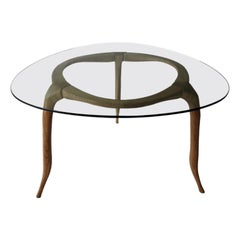 Domo, Contemporary Table in English Oak, Designed by Nigel Coates