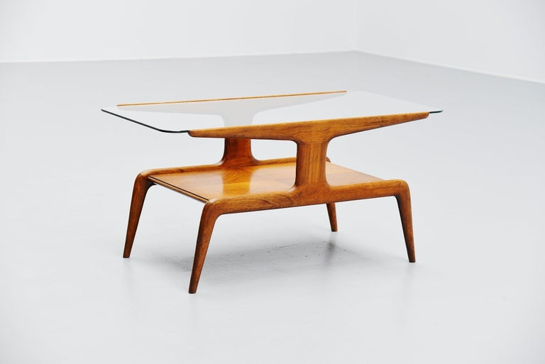 Mid-Century Modern Gio Ponti Coffee Table, Italy, 1950 For Sale