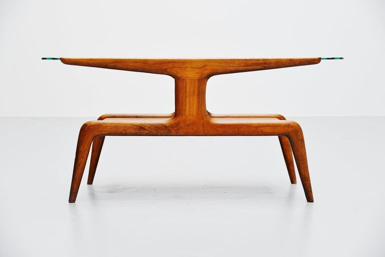 Italian Gio Ponti Coffee Table, Italy, 1950 For Sale