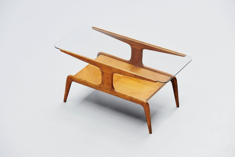 Gio Ponti Coffee Table, Italy, 1950 In Good Condition For Sale In Roosendaal, Noord Brabant